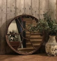 Antique Salvage Rustic Mirror