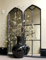 Black Gothic Style Architectural Mirrors
