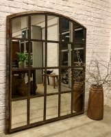 Rustic Architectural Slow Arched Mirror