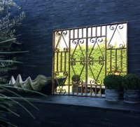 Decorative Vintage Garden Ironwork Mirror