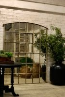 Large Window Industrial Factory Home and Garden Mirror