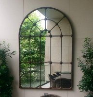 Extra Large Garden Full Arch Bose Window Mirror