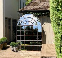 Extra Extra Large Antique Orangery Style Mirror
