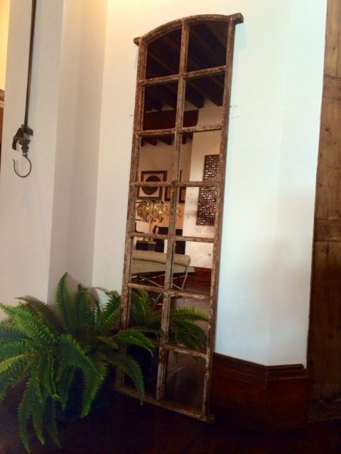 Tall Narrow Slow Arch Style Window Mirror Tall Mirror