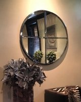 Interior Hand Polished Original Window Mirror
