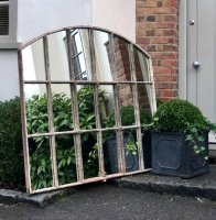 English Heritage Slow Arch Window Mirror
