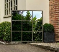 Bespoke Ironwork Square Mirror