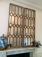 Decorative Architectural Window Mirror Panels
