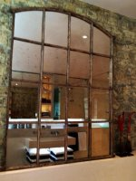 Original Mill Salvaged Window Mirrors