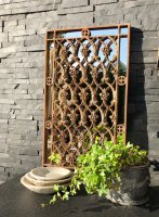 Orangery Wall Grille Panel Mirrors