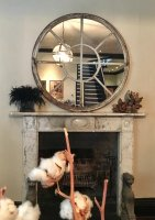 Precious Patina Antique Circular Mirrors