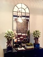 Tall Elegant Arch Window Mirror