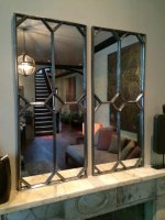 Intricate Design Mirror Panels