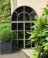 Crittall Window Mirror for the Home and Garden