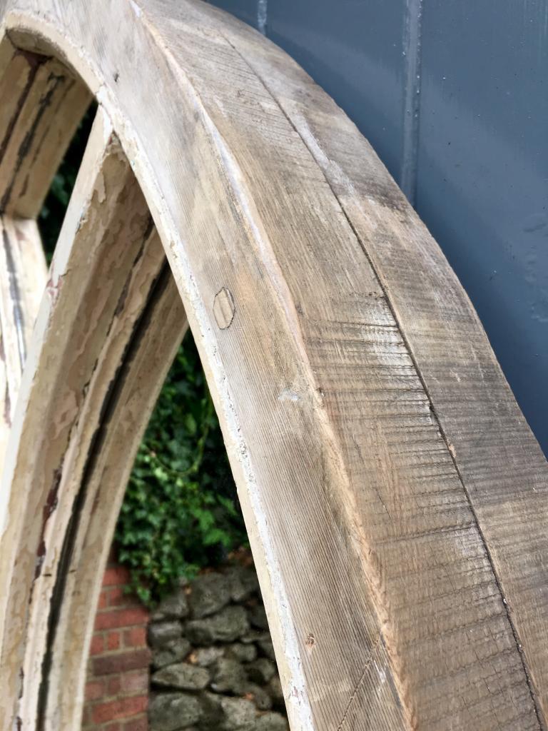 Reclaimed Chapel Arch Original Window Mirror Reclaimed