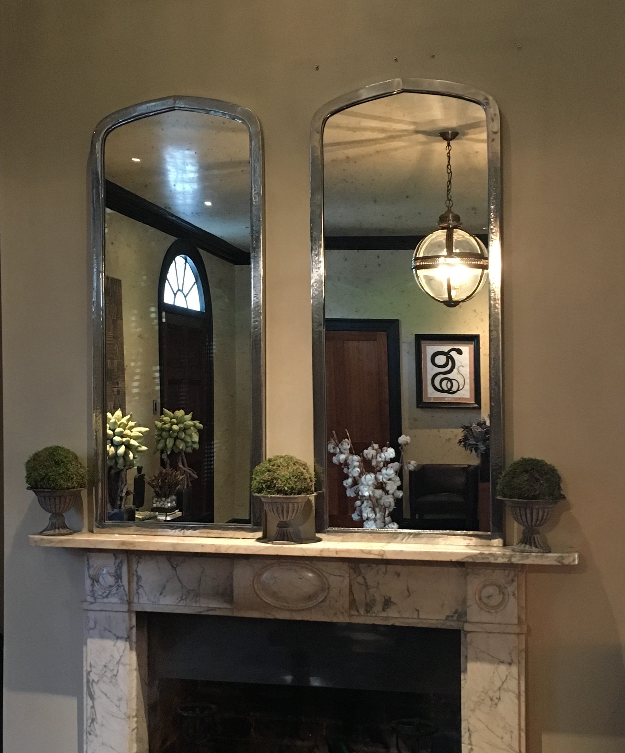 Arched Aldgate Home Architectural Mirrors Panel