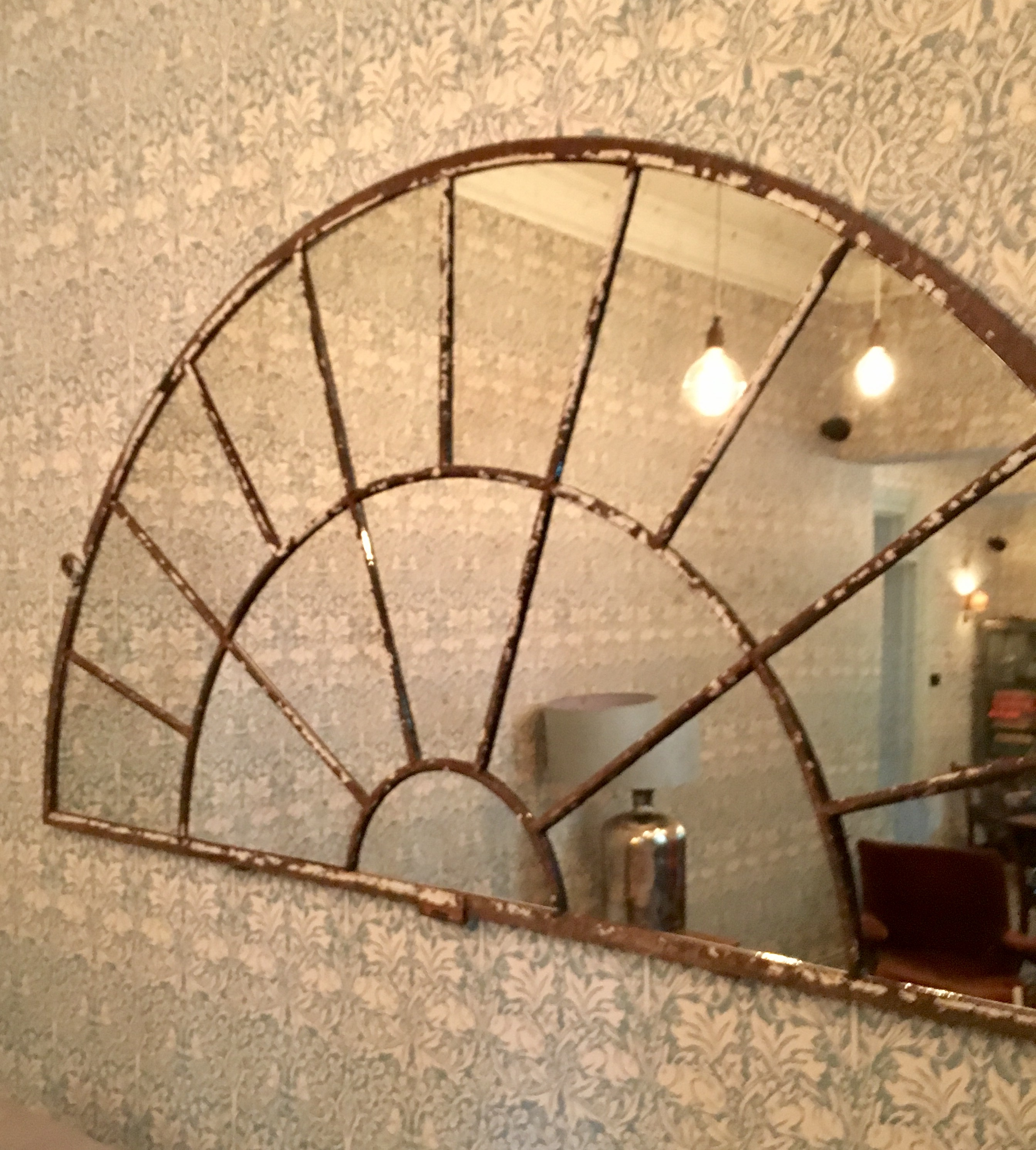 Extra Extral Large French Architectural Fan Style Window