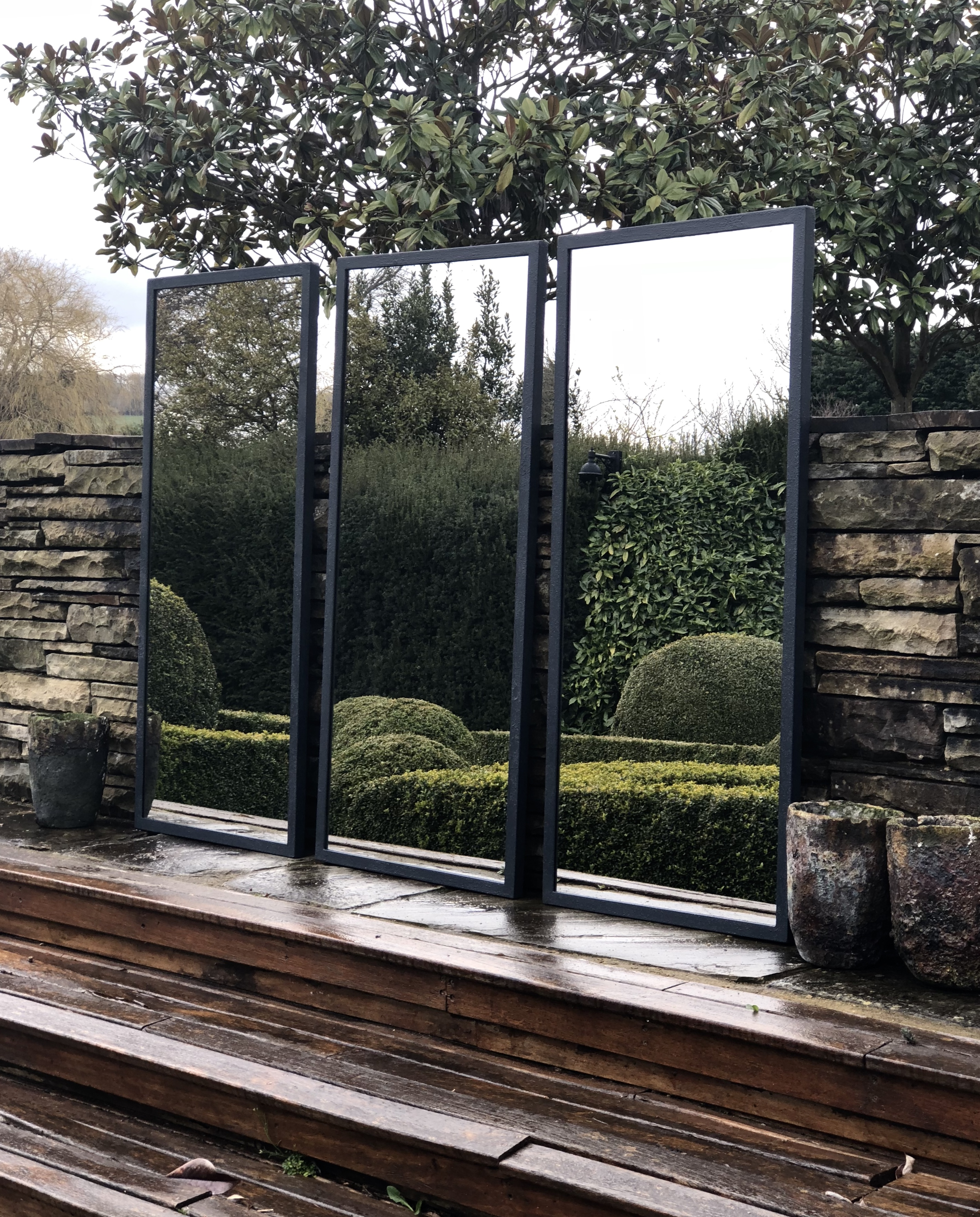 . Contemporary Mirrors for Home and Garden contemporary y bespoke