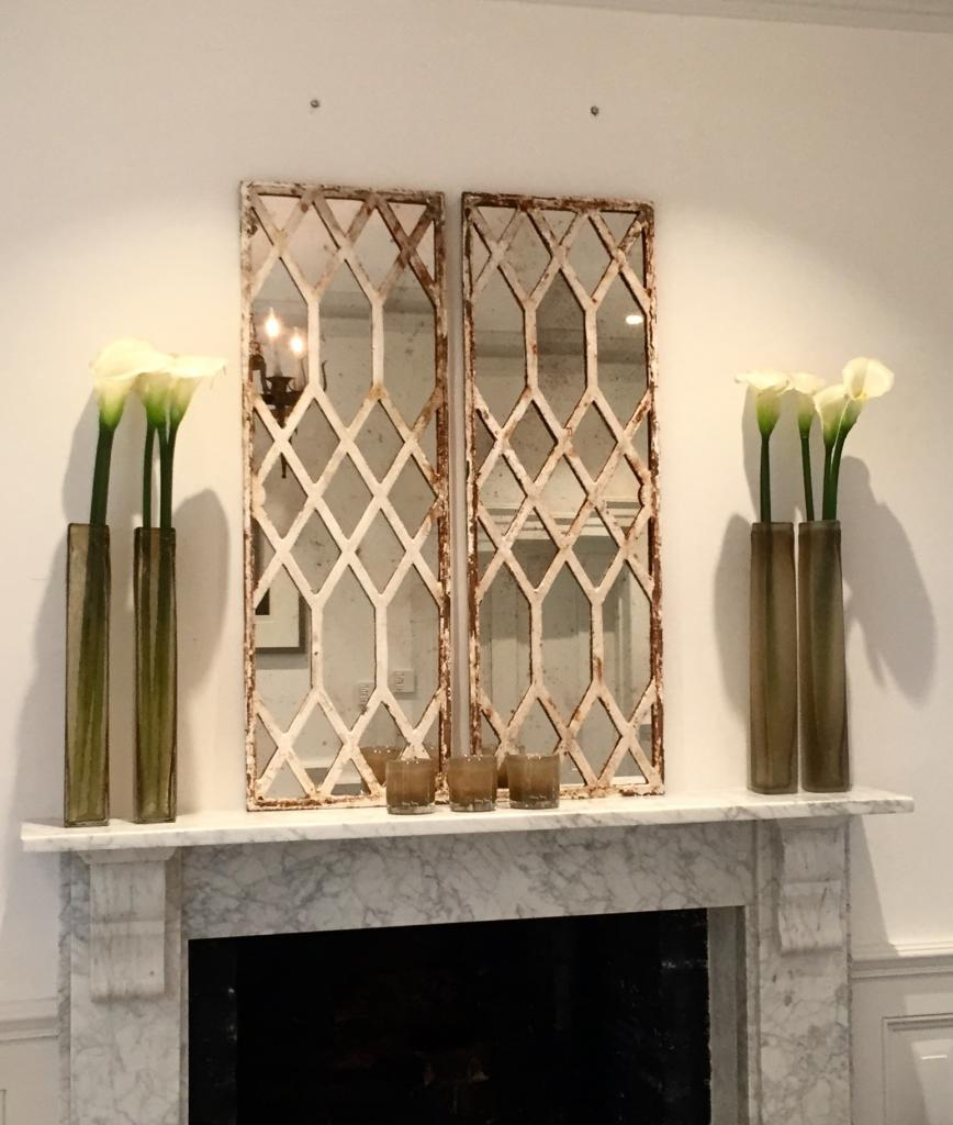Diamond Design Rustic Window Mirrors Architectural Window