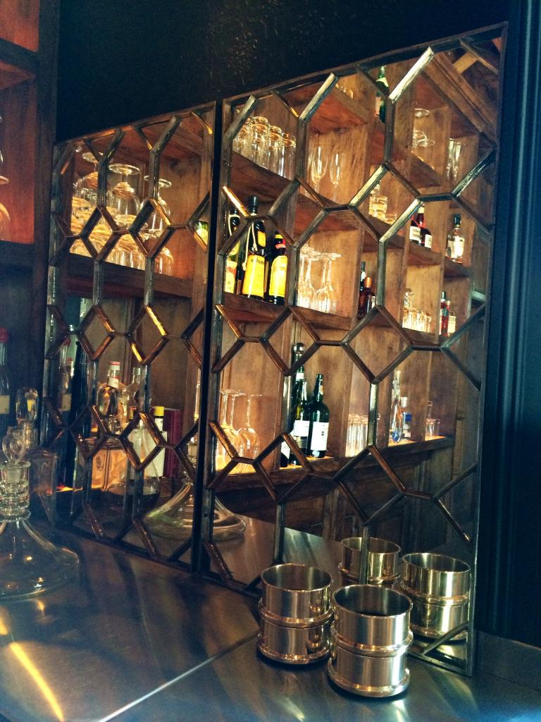Ex Kentish Manor House Decorative Hexagonal Wall Mirror