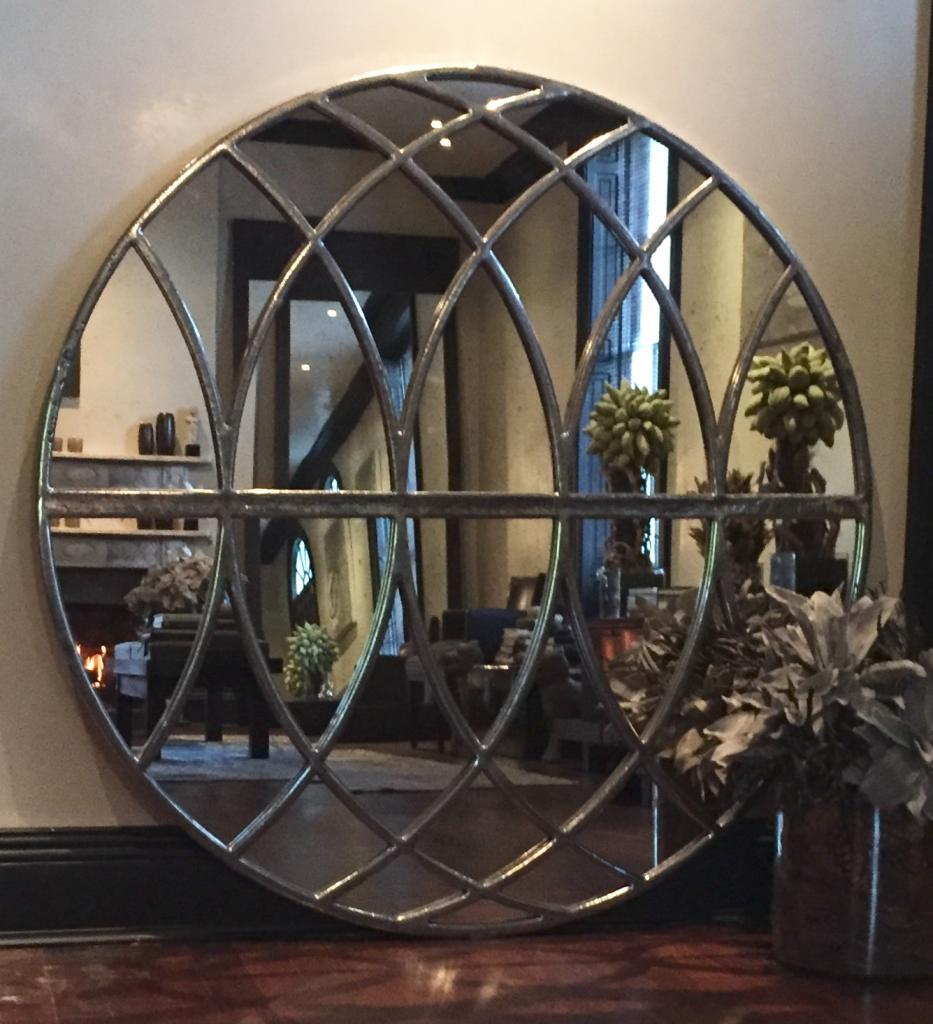 Extra Extra Large Circular Panelled Mirrors Extra Large
