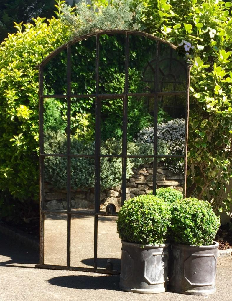 Aldgate home garden arch architectural mirror garden for Decoration murale miroir