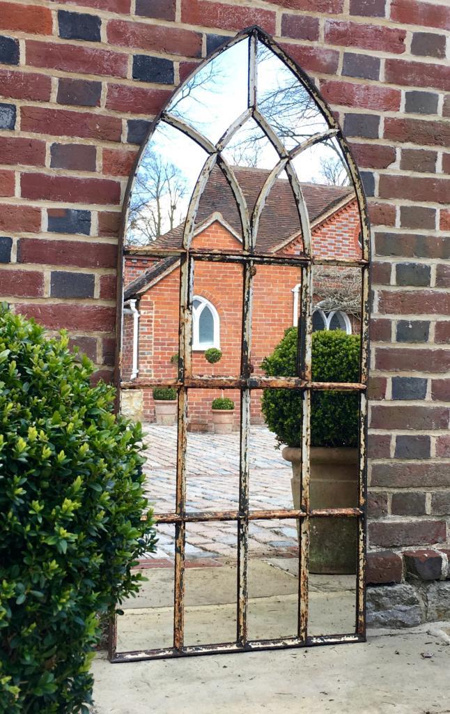 Gothic Arch Original Window Mirror