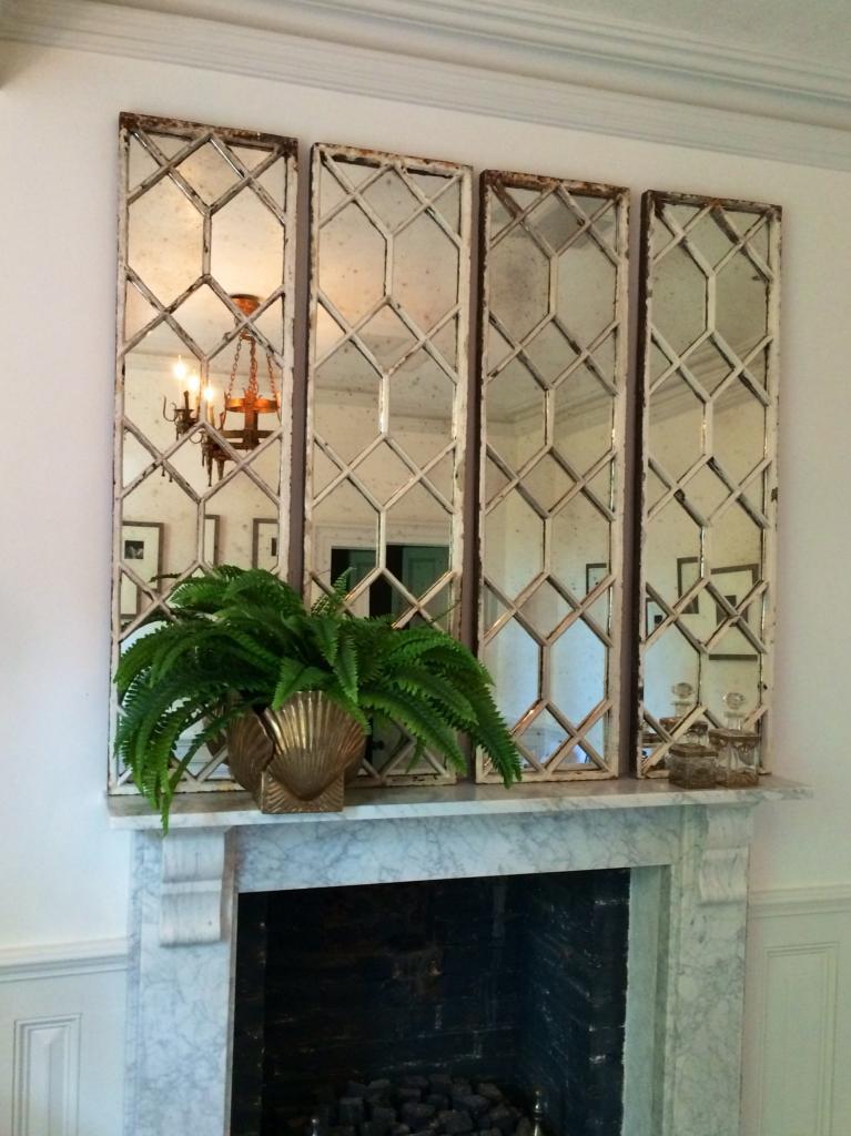 Original Decorative Architectural, Decorative Window Frame Mirrors