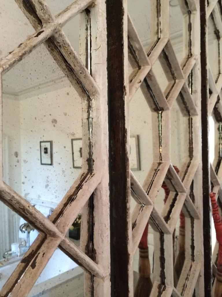 Original Decorative Architectural Window Frame Mirrors