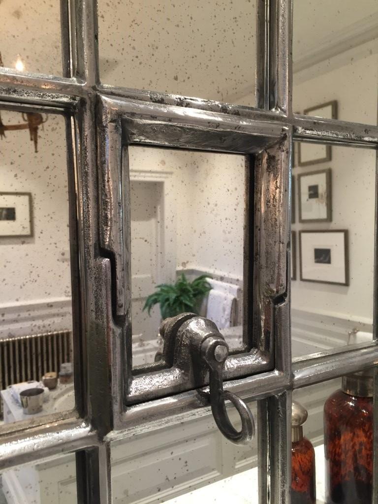 Smaller Window Frame Mirror Slow Arch Antique