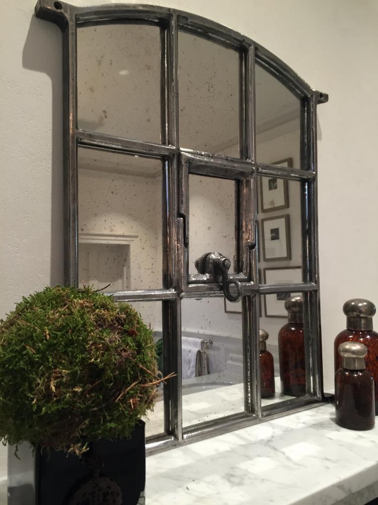 Antique Mirror Gallery Wall