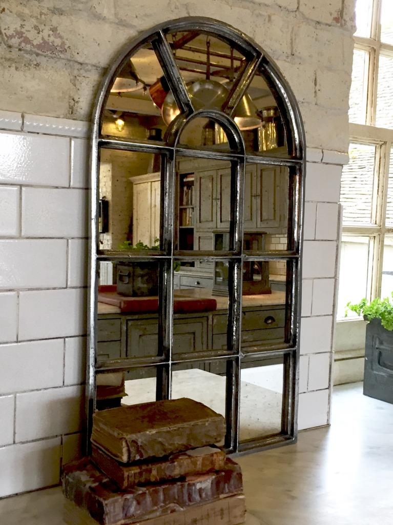 Antique Small Arch Reclaimed Mirror Recalimed Mirror