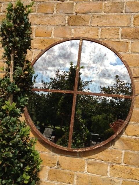 Small Circular Window Frame Mirror Cg 4 Aldgate Home Ltd